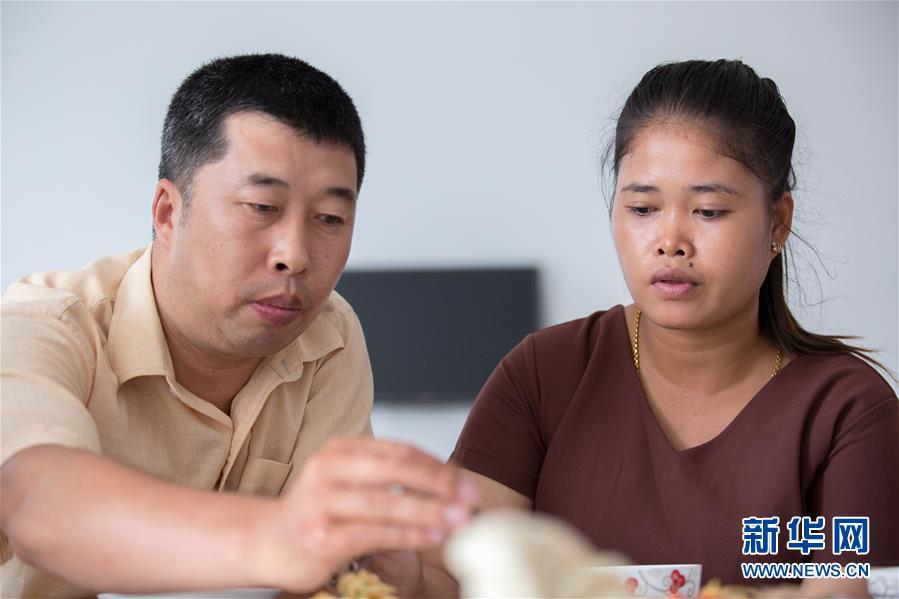 """(国际·""""一带一路""""高峰论坛·图文互动)(2)柬埔寨90后姑娘在西港特区收获成长与爱情"""
