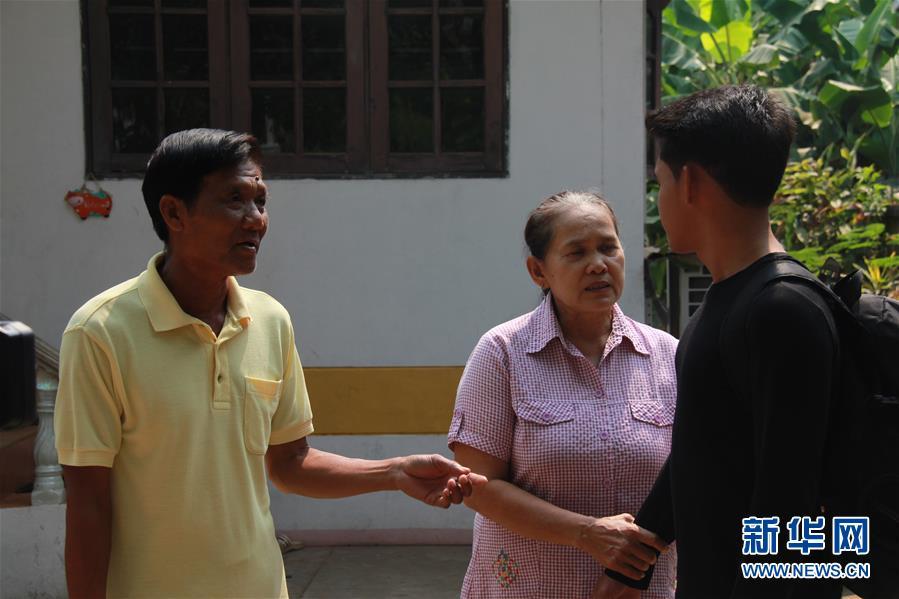 """(国际·""""一带一路""""高峰论坛·图文互动)(5)通讯:泰国青年阿努帕的火车司机梦"""