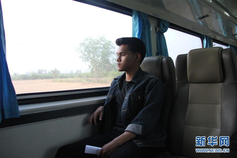 """(国际·""""一带一路""""高峰论坛·图文互动)(2)通讯:泰国青年阿努帕的火车司机梦"""