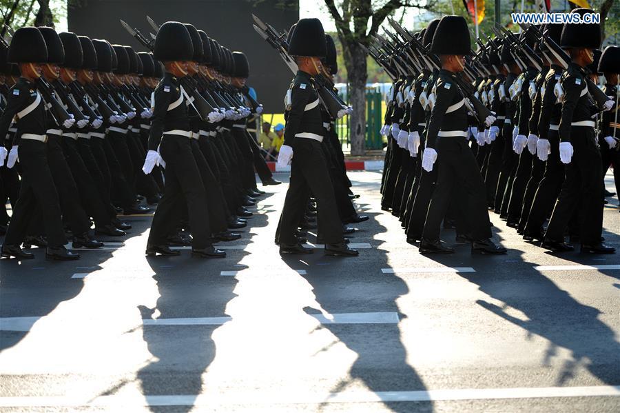 THAILAND-BANGKOK-CORONATION CEREMONY-REHEARSAL