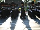 Thai Royal Guard take part in rehearsal of upcoming Royal Coronation ceremonies in Bangkok