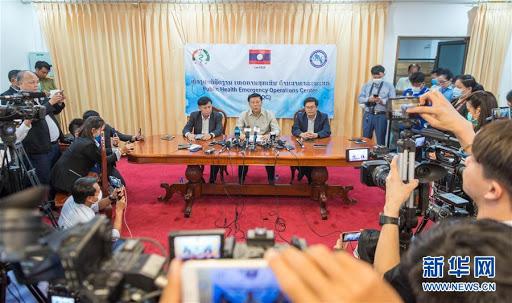 2020年3月24日,老挝卫生部召开新闻发布会宣布,该国首次发现新冠肺炎确诊病例.jpg