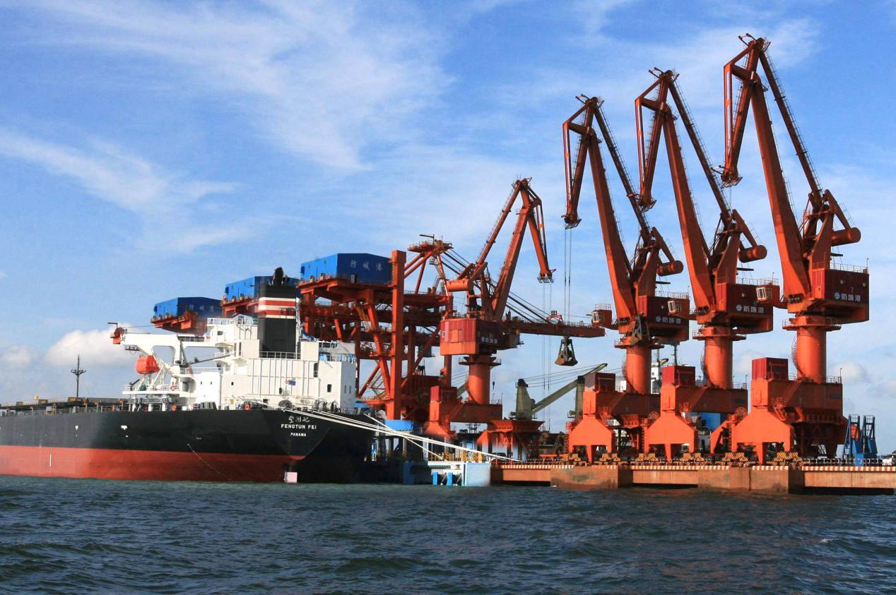 说明: 防城港20万吨级码头雄姿