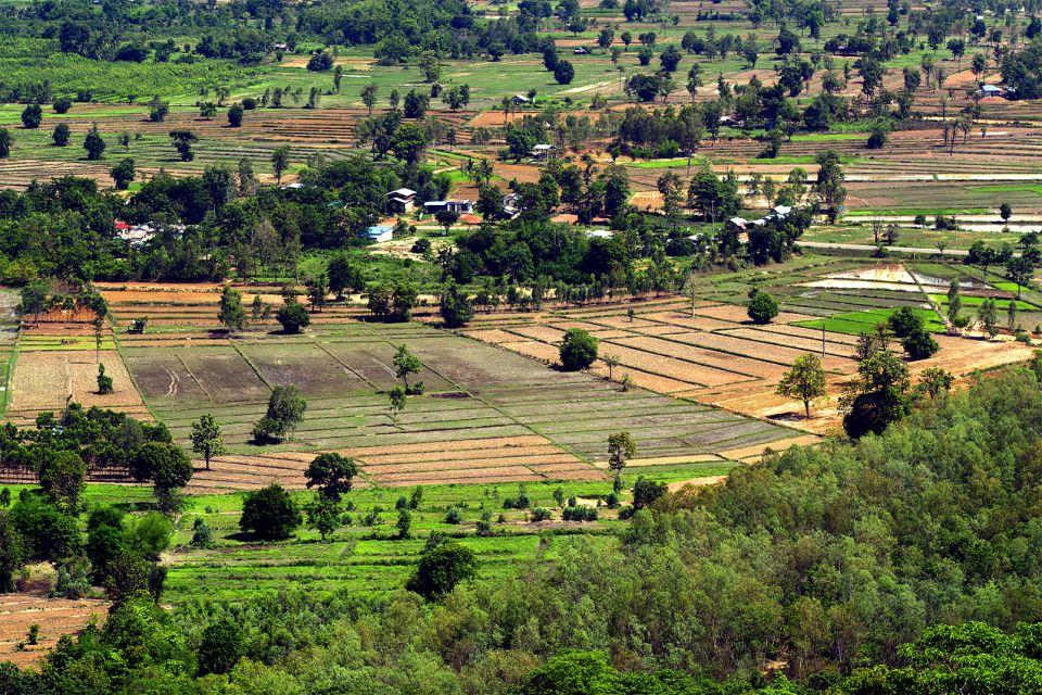 说明: 泰国东北部高原