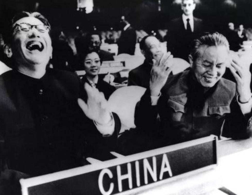 1971年,新中国恢复在联合国的合法席位