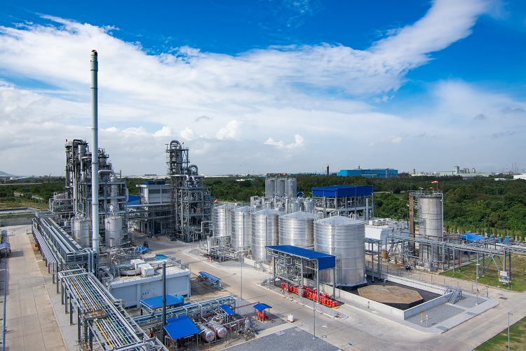 The plant built in Thailand's Eastern Economic Corridor is using local cane sugar to manufacture annually 75,000 tonnes of PLA, while having smaller carbon footprint